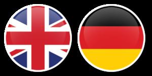 angielski-niemiecki