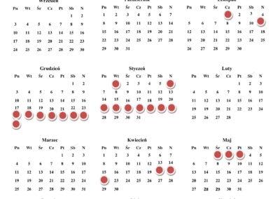 Kalendarz dni wolne-1